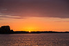 Sunrise over the Bay of Quinte 2016 October 6th.