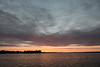 Sky before sunrise over the Bay of Quinte 2016 October 6th. Hints of purple in the clouds.
