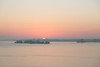 Sunrise down the Bay of Quinte from the Norris Whitney bridge.
