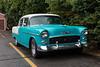 Alberta licence plate X-229 Chevrolet 1955