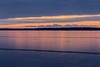 Looking across the ice on the Bay of Quinte before sunrise. 2018 December 10.