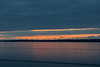 Clouds across the Bay before sunrise.