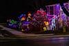 Christmas lights on Bertram Boulevard in Belleville.