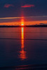 Sunrise 2018 December 10 across the Bay of Quinte from Belleville Ontario.