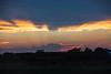 Sky around sunset between Wellington and Bloomfield.