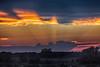 Sky around sunset between Wellington and Bloomfield. Pseudo HDR efx dark.