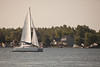 Sailboat on Bay of Quinte