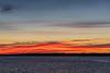 Sky before sunrise across the Bay of Quinte from Belleville Ontario 2018 November 11.