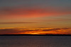 Sky just before sunrise across the Bay of Quinte from Belleville Ontario 2018 November 11.