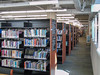 Belleville Ontario new public library. Book stacks.