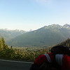 View along the way up the Mount Baker highway (5.3% grade for the last 11 miles)