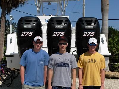 Ben's Graduation Fishing Trip to Dry Tortugas 2008
