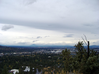View from Pilot Butte in Bend, Oregon