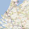 Trip to Benelux, 2012, maps<br /> 4th day: NH Hotel, Best, Netherlands tohague, Vollendam and to Zaanse Schans, Netherlands