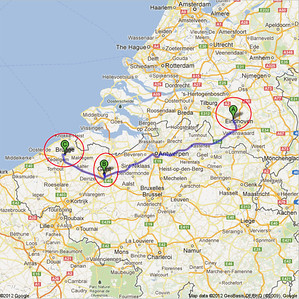 Trip to Benelux, 2012