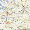 Trip to Benelux, 2012, maps<br /> 6th day: NH Hotel, Best, Netherlands to Antwerpen and to City of Brussels, Belgium