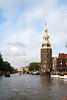 This tower, the Montelbaanstoren, was originally part of the city defences. It was built in 1516 and extended in 1606.<br /> _MG_7361
