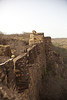 The Ranthambhore Fort, 990 AD, in the photographs from the Ranthambhore National Park and Tiger Reserve, India