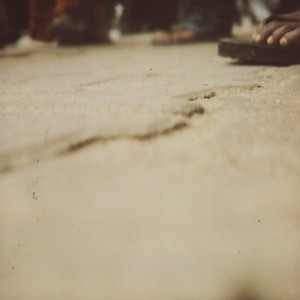 sandal. polaroid 600 film format.