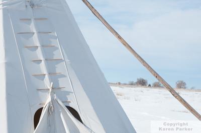 Bent's Old Fort National Historic Site - LaJunta, Colorado - January, 2012