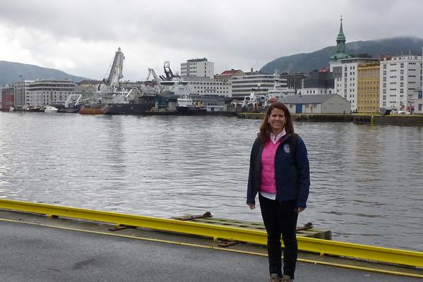 Bergen Norway August 2016