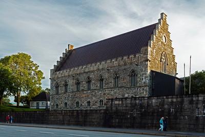Old church in Bergen