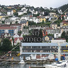 A view from the cruise ship port in Bergen, Norway.