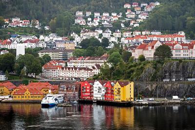We are approachimg Bergen