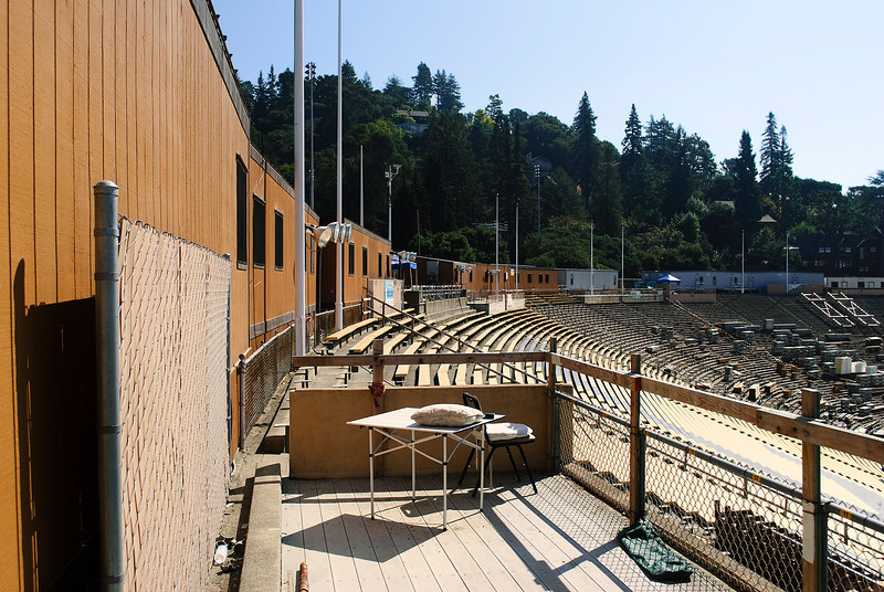 Construction at Cal Berkeley stadium