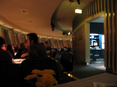 Fernsehturm draaiend restaurant