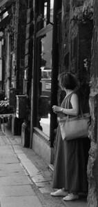 Eine unbekannte Frau; Oranienburgestraße