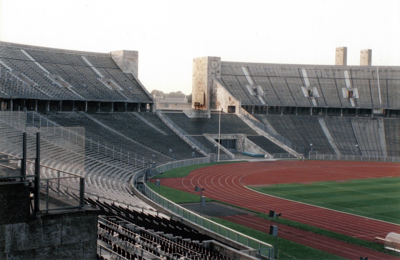 Olympic Stadium (well before renovation for the World Football Cup 2006)