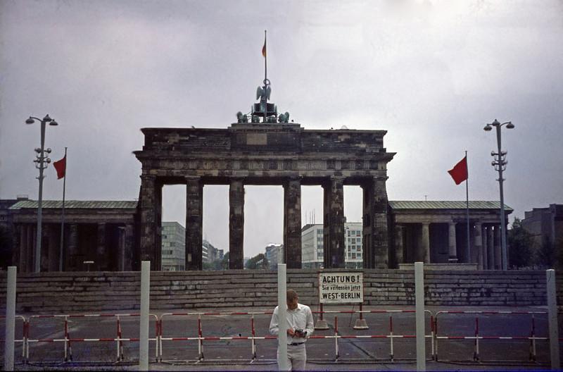 Brandenburg Gate from the West. 1969