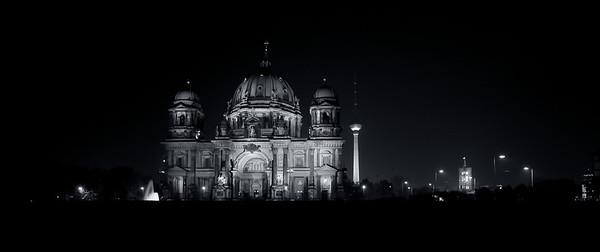 Berliner Dom und Funkturm