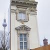 2013-12-11. Det nybyggda 1-personers slottet vid Schloßplatz. Berlin [DEU]