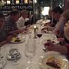 Dinner with colleagues at Lutter & Wegner, Potsdamer Platz.