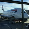 DC to Berlin via London on the A-380.