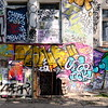 This area just to the east of the Berlin Wall offered graffiti that was just as impressive as anywhere else in the city.