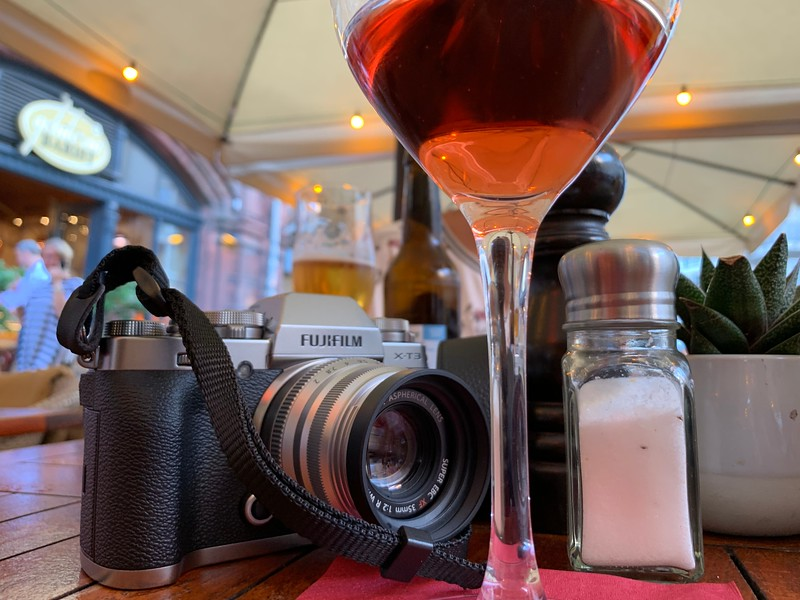 What goes with the Fuji X-T3?  Why, rose, of course!