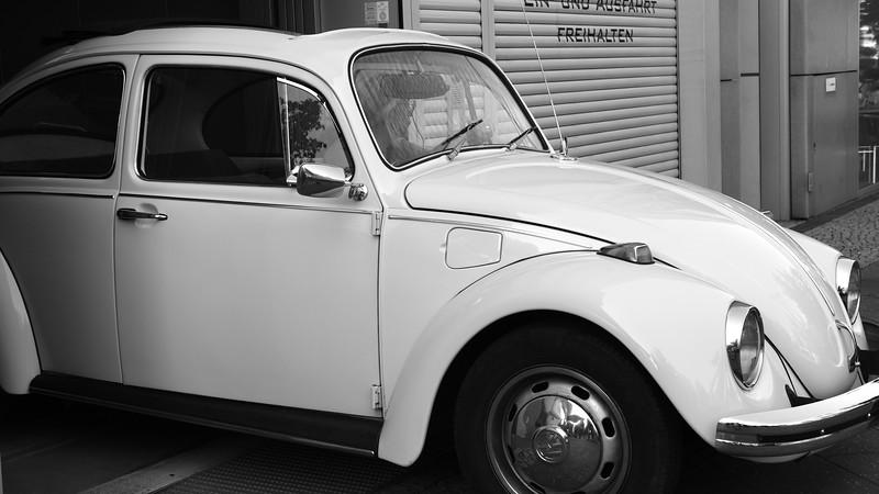 Volkswagens everywhere!