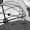 """World Time Clock"" in Alexanderplatz."