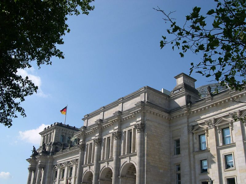 Front of Reichstag