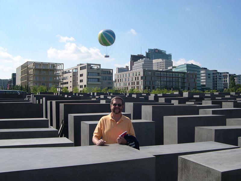 Dick in Holocaust Memorial