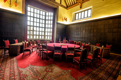Pottsdam Conference Table for Churchill, Truman, and Uncle Joe