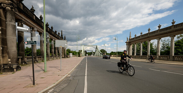 Bridge of Spies, Pottsdam. from Potsdam side (East German).
