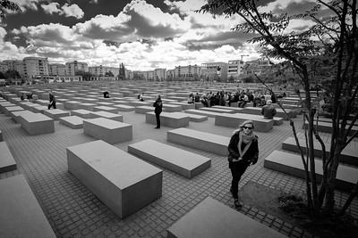 Memorial to the Murdered Jews of Europe, near Brandenburg Gate, Berlin