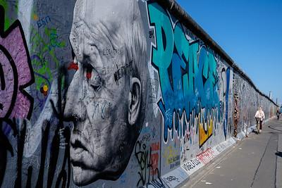 East Side Gallery,  Berlin Wall, Berlin