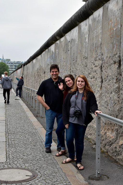 Longest preserved section of Berlin Wall