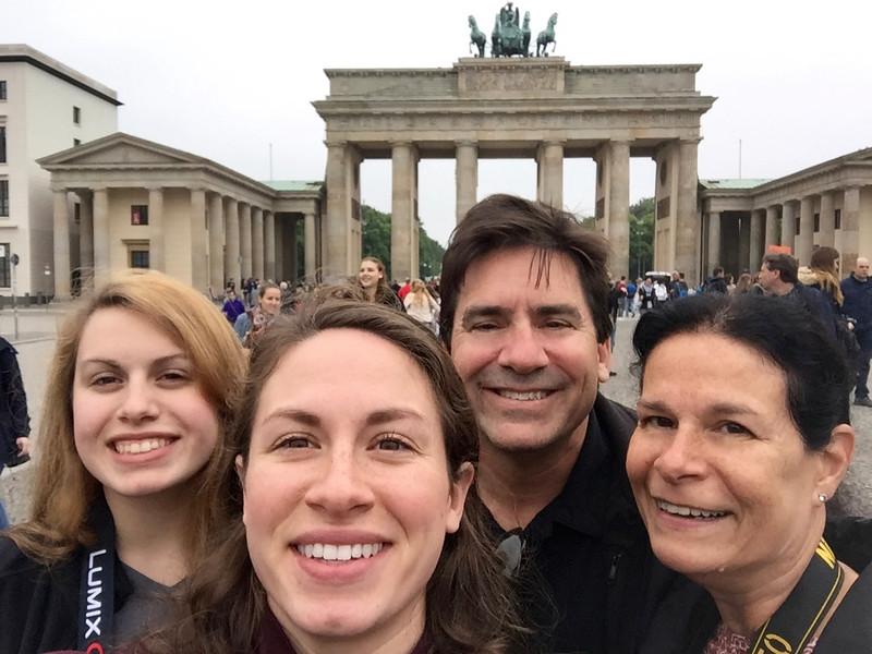First stop Brandenburg Gate