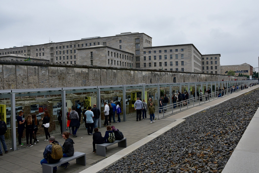 Wall and Topography of Terror Museum